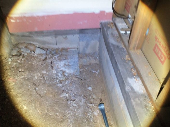 Termimesh physical,termite barrier to subfloor areas
